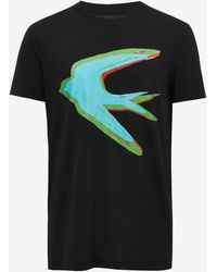 McQ Alexander McQueen | Swallow Crew Neck T-shirt | Lyst