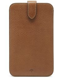 Mulberry Large Smartphone Cover brown - Lyst