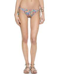 Terez - Sprinkles Tie Bikini Bottoms - Lyst