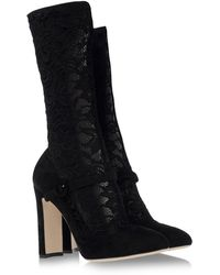 Dolce & Gabbana Ankle Boots - Lyst