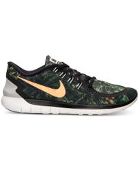 Nike | Men\u0026#39;s Free 5.0 Solstice Running Sneakers From Finish Line | Lyst