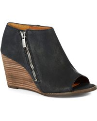 Lucky Brand Jaspah Stacked Wedges - Lyst