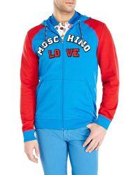Love Moschino Logo Hoodie - Lyst