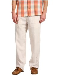 Tommy Bahama Linen On The Beach Pants - Lyst