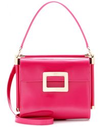Roger Vivier Miss Viv Patentleather Shoulder Bag - Lyst