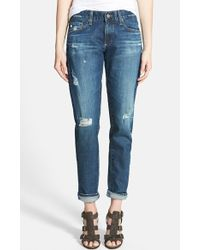 AG Adriano Goldschmied 'The Nikki' Relaxed Skinny Jeans - Lyst