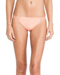 Mikoh Swimwear Lanai Multi String Loop Bottom - Lyst