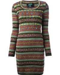 Jean Paul Gaultier Knit Dress - Lyst