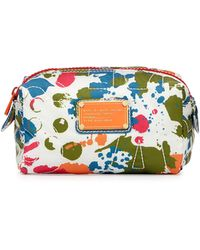 Marc By Marc Jacobs Pretty Nylon Splatter Cosmetic Case - Lyst