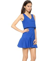 Black Halo Shawna Mini Dress  Lust - Lyst