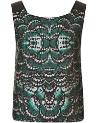 TOME Mirror Print Top - Lyst