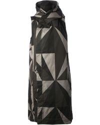 DRKSHDW by Rick Owens Sleeveless Coat - Lyst