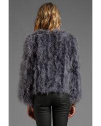 American Retro - Donia Coat in Grey - Lyst
