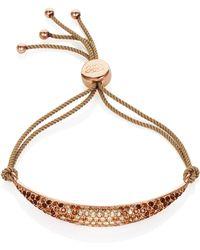 Caroline Creba - Gradient Crystal Friendship Bracelet - Lyst