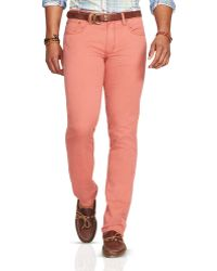 Ralph Lauren | Polo Varick Slim Fit 5-pocket Pants | Lyst