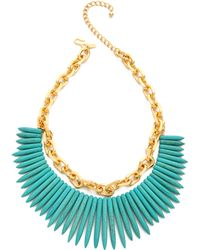 Kenneth Jay Lane - Chain Stick Necklace - Lyst