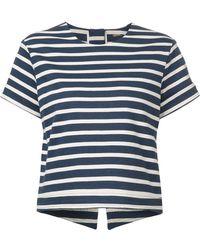 Adam Lippes Striped Shirt - Lyst