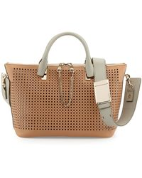 Chloé Baylee Perforated Bag - Lyst