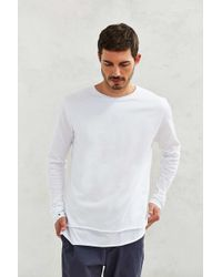 Feathers - Double Layer Long-sleeve Tee - Lyst