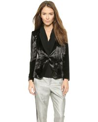 Rag & Bone March Blazer - Black - Lyst