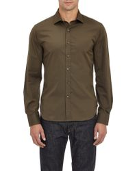 Todd Snyder Polished Cotton Shirt - Lyst