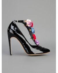 Charkviani - Jane Floral Embellished Pump - Lyst