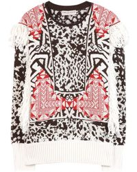 Emilio Pucci Multicolor Mohairblend Sweater - Lyst