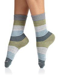 Falke Striped Socks - Lyst