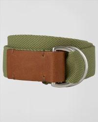 Jaeger - Cotton Webbing Belt - Lyst