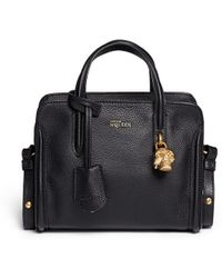 Alexander McQueen Padlock Small Leather Tote - Lyst