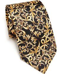 Versace   Black Baroque Tie   Lyst