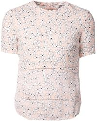A.L.C. Printed Layered Blouse - Lyst