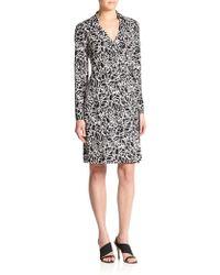 Diane von Furstenberg New Jeanne Silk Jersey Wrap Dress - Lyst