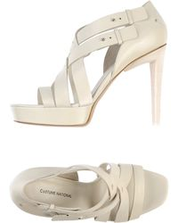 Costume National Sandals - Lyst