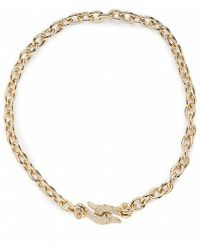 CC SKYE Fish Hook Collar Necklace - Lyst