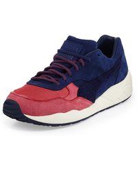 Puma Xs698 Nubuck and Mesh Sneaker - Lyst