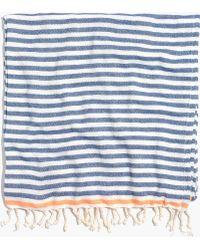 Madewell Turkish-T&Reg; Beach Candy Towel blue - Lyst