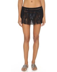 Pilyq - African Rays Fringe Skirt - Lyst