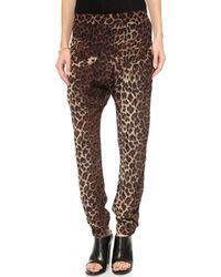 Flynn Skye The Perfect Pants  Leopard - Lyst