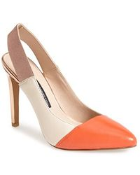 French Connection 'Maemi' Slingback Pump - Lyst
