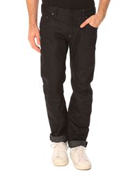 G-star Raw Attacc Low Straight Oiled Black Jeans - Lyst