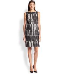 Max Mara Salvo Printed Sheath Dress - Lyst