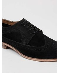LAC - Marble Brogue Bk Suede Brogues - Lyst