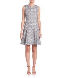 Tory Burch | Textured Burlap Dress | Lyst