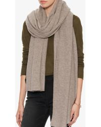Exclusive For Intermix - Cashmere Travel Scarf - Lyst