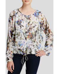 Elizabeth And James Benji Silk Blouse - Lyst