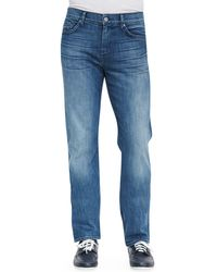 7 For All Mankind Luxe Performance Slimmy Nakkitta Jeans - Lyst