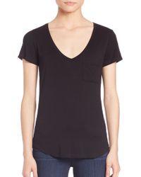 Paige | Lynnea V-neck T-shirt | Lyst