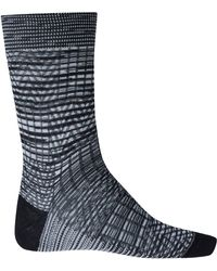 Missoni Black Zigzag Cotton Socks - Lyst
