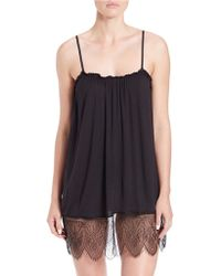 Joe's Jeans - Lace-accented Chemise - Lyst